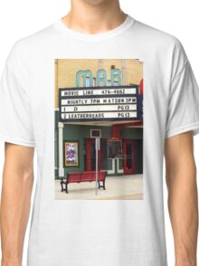 Route 66 - Mar Theater Marquee Classic T-Shirt