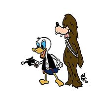 Duck Solo Photographic Print