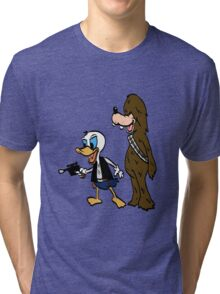 Duck Solo Tri-blend T-Shirt