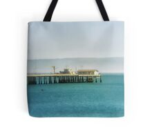 The Pier. Tote Bag