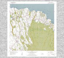 USGS TOPO Map Hawaii HI Haiku 349235 1957 24000 One Piece - Long Sleeve