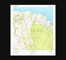 USGS TOPO Map Hawaii HI Haiku 349235 1957 24000 Unisex T-Shirt