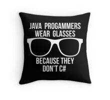 programmer Throw Pillow