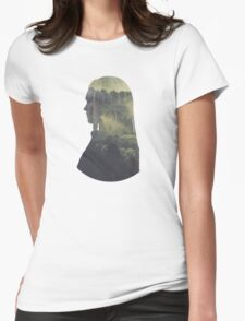 Clarke - The 100 - Forest Womens Fitted T-Shirt