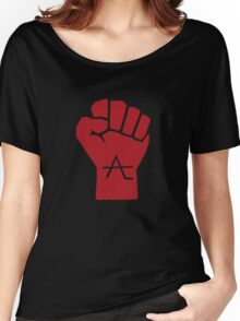 AlienLeague - Fight Human Oppression (r) Women's Relaxed Fit T-Shirt