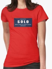 Han Solo 2016 Womens Fitted T-Shirt