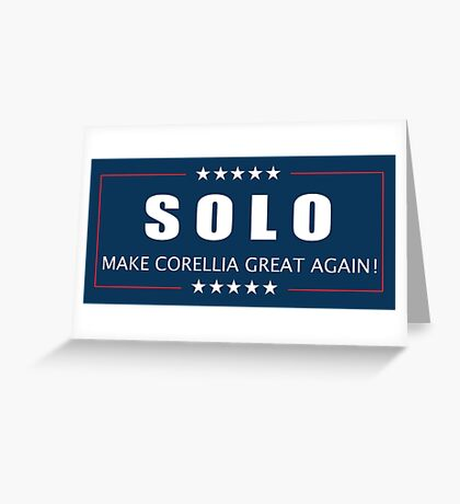 Han Solo 2016 Greeting Card