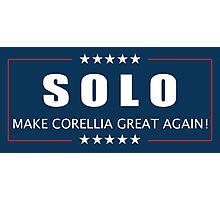 Han Solo 2016 Photographic Print