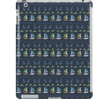 Sailing around the world  iPad Case/Skin