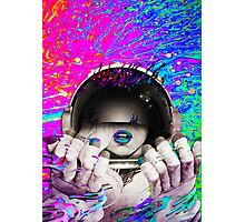 Psychedelic Astronaut (Vintage Effect) #2 Photographic Print