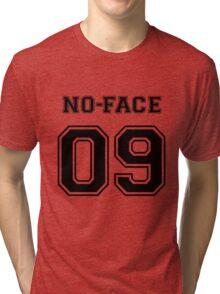 Spirited Away - No Face Varsity Tri-blend T-Shirt