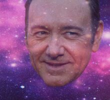 Spacey in Space Sticker