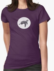 Sea Thumbtle Womens Fitted T-Shirt