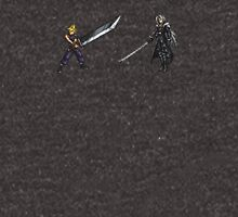 Cloud vs Sephiroth (FF7) - FFRK Boss Sprites Unisex T-Shirt