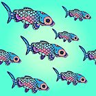 Rainbow Fish by hollyddesigns