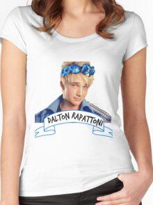 Dalton Rapattoni Flower Crown (American Idol) (IM5) (Fly Away Hero) Women's Fitted Scoop T-Shirt