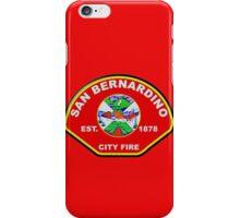 San Bernardino City Fire iPhone Case/Skin