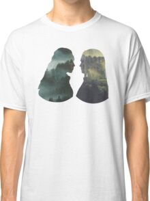 Clexa - The 100 - Forest Front Classic T-Shirt