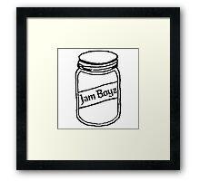 Jam Boyz Framed Print