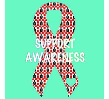 Awareness Ribbon Photographic Print