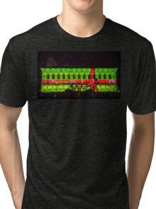 Happy Holidays Boston Tri-blend T-Shirt