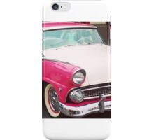 Classic Car - pink iPhone Case/Skin