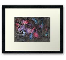 "Arctic Monkeys Inspired Illustration - ""She's made of outer space"" Framed Print"