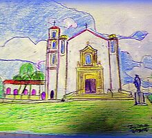 st mary magdalen church camarillo ca by Timothy C O'Reilly