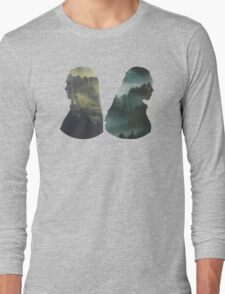 Clexa - The 100 - Forest Back Long Sleeve T-Shirt
