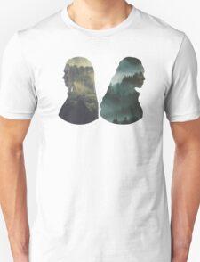Clexa - The 100 - Forest Back T-Shirt