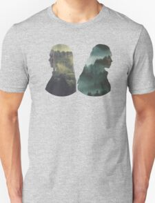 Clexa - The 100 - Forest Back Unisex T-Shirt