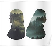 Clexa - The 100 - Forest Back Poster