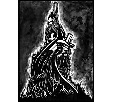 Martyrs - Jacques DeMolay and Guy Fawkes   Photographic Print