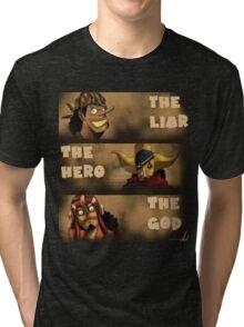 manga, anime -one piece- Tri-blend T-Shirt