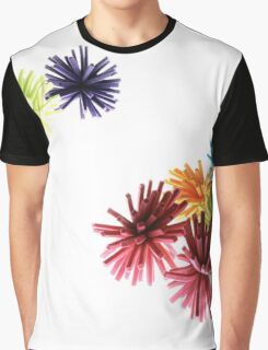 Spongey Color Fun  Graphic T-Shirt
