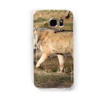 The Eurasian wolf (Canis lupus lupus) Samsung Galaxy Case/Skin