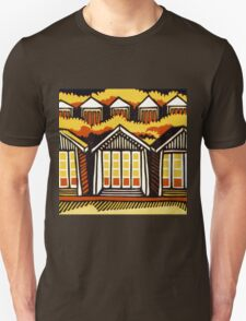 Beach Huts - Summer Unisex T-Shirt