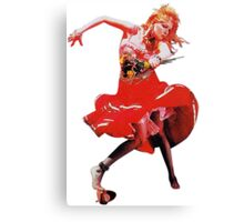 She's So Unusual by Cyndi Lauper Canvas Print