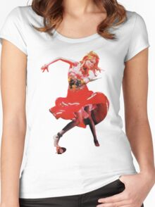 She's So Unusual by Cyndi Lauper Women's Fitted Scoop T-Shirt