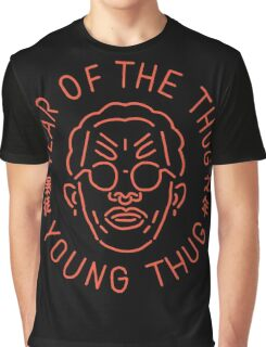 Year Of The Thug (Orange) Graphic T-Shirt