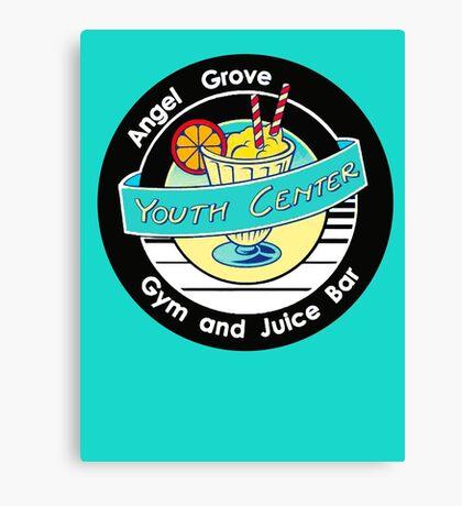 Angel Grove Youth Center - Gym & Juice Bar Canvas Print
