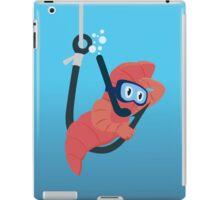 worm bait iPad Case/Skin