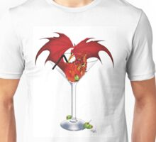 Martini Dragon Unisex T-Shirt