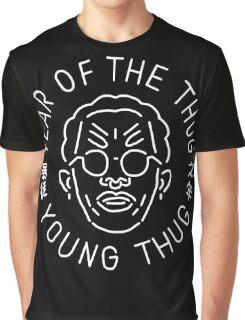 Year Of The Thug (white) Graphic T-Shirt