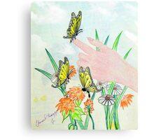 Magical Touch Canvas Print