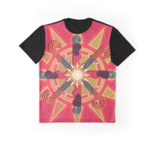 Sun Dial Graphic T-Shirt
