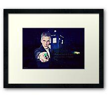 Twelfth Doctor  Framed Print