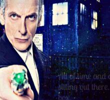 Twelfth Doctor  Sticker