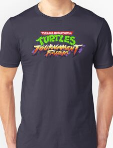 TMNT: Tournament Fighters (SNES Title Screen) T-Shirt