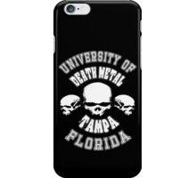 University of Death Metal iPhone Case/Skin